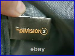 The Division 2 Backpack With Tommy Plush Keychain New