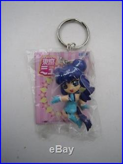 Tokyo Mew Mew Mew Ichigo Mint Aqua Zakuro Purin Keychain Figure Full Set SEGA