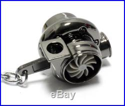 Twin BI TURBOCHARGER KEYCHAIN BLACK 16V VR6 Turbo Garrit G40 G60 JDM You