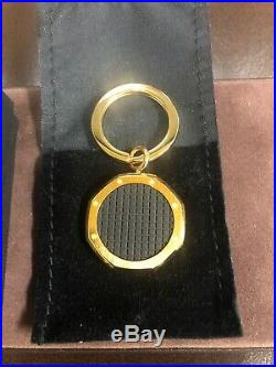 ULTRA RARE AUDEMARS PIGUET ROYAL OAK OFFSHORE KEY Chain Ring Rose Gold and Black