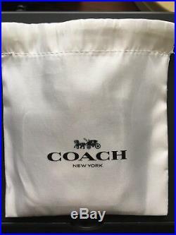 Very Rare! COACH X Mickey And Minnie Smack Kissing Bag Charm Key Chain Fob 29790