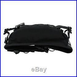 YOSHIDA PORTER HEAT WAIST BAG 703-06979 Black Nylon Light Key Chain Outdoor