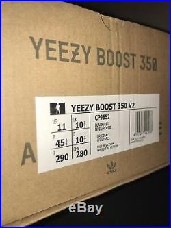 Yeezy 350 v2 Bred OG Box & Keychain