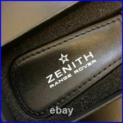 ZENITH key chain genuine leather logo key chain