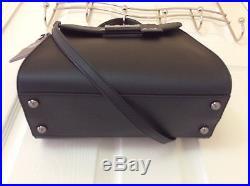 Zac Posen Eartha Top Handle Leather Satchel with Zac Miniature Handbag Keychain